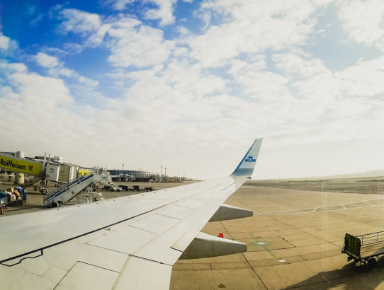 Amsterdam Aeropuerto Avion Ecuador