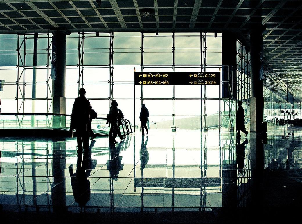 En el camino a Ecuador - Aeropuerto